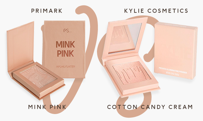 Mink Pink vs Cotton Candy Cream